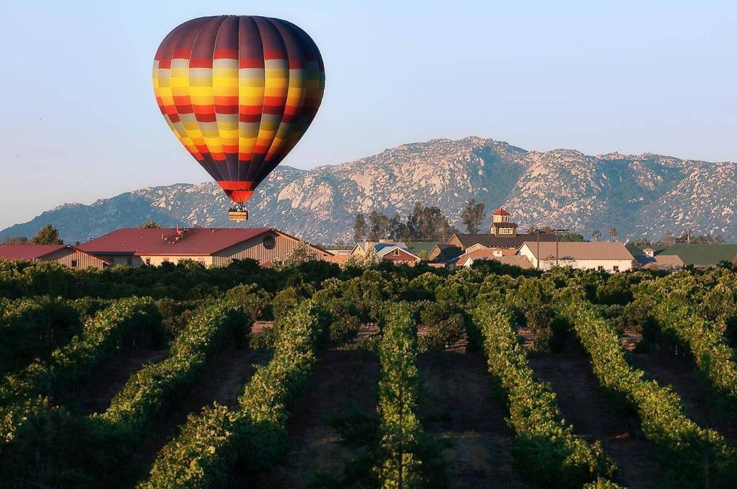 Temecula Wine Country Hot Air Balloon